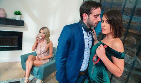 Мощный оргазм, что девушки получат с мужиком, обещает ему повторение т